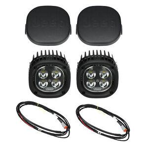 18-20 JEEP WRANGLER JL & GLADIATOR OFF ROAD LED LIGHT LAMP KIT MOPAR 82215385AC