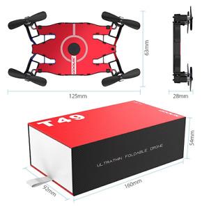 Mini WIFI FPV 720P HD Camera QuadcopterFoldable G-sensor RC RC or Smart Phone