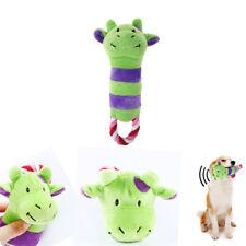Animal Pattern Calf Donkey Pet Dog Toy Plush Cute Chew Squeaker Sound Toy Stuffs