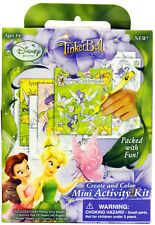 "Disney ""TINKER BELL MINI ACTIVITY PACK"" ~ New ~ Packed With Fun!"