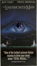 Lawnmower Man - Unrated Director's Cut - VHS SEALED Warner Watermarks LAST ONE!