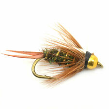 Bead Head Prince Nymph Fly - Hook Size 10 - Trout Fly Fishing Flies