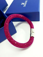 Swarovski Bracelet Stardust Crystals Original Fuchsia Jewelry Ladies Accessories