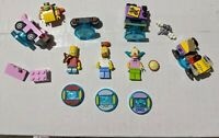 Lego Dimensions Lot Simpsons AS SHOWN AS IS Bart Homer Krusty itchy scratchy