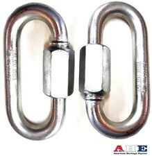 Quick Link Chain Links 2 Piece Set Large Size 10mm Zinc Ahe New Free Shipping