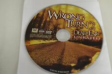 Wrong Turn 2 (DVD, 2009, Widescreen Unrated)Disc Only Free Shipping