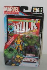 "2011 Marvel Universe: Greatest Battles Wolverine Vs Hulk ""2-Pack"" Action Figure"