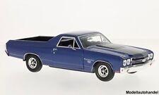 Chevrolet El Camino metallic-blau /schwarz 1970 - 1:24 MotorMax