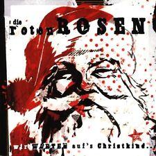 """DIE ROTEN ROSEN """"WIR WARTEN AUF'S CHRISTKIND"""" CD NEW+"""