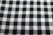 Craft Apparel Fabric Large Checks 4+ Yds