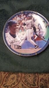 "KEN GRIFFEY JR. ""MOST VALUABLE PLAYER"" Plate - 1998 - Seattle Mariners - LTD ED"
