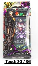 "Ed Hardy ""Love Kills Slowly"" Tattoo Phone Case Protector for iPod Touch 2G / 3G"