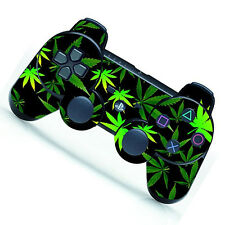 New CHIC Green Leaf Decal Skin Sticker for Playstation 3 PS3 Remote Controller