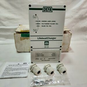 DEFA 4041-2 LifeBoat Battery Charger 2 x5A 42 Volts AC. PN:700110.