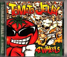 Tomato Jelly ‎– 4 Wheels CD (1999 Japan Ska-Punk) Japanese Press with OBI for