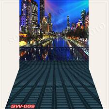 Cityscape10'x20'Computer/Digital Vinyl Scenic Photo Backdrop Background SW069B88