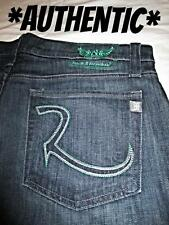 ROCK & REPUBLIC Neil Puncture Blue Straight Leg Mens Dark Jean Size 38 NEW NWT