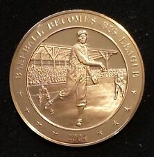 Franklin Mint Bronze Medal Proof 1904- Baseball Becomes Big League