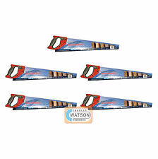 """5 PACK S&J Spear and Jackson B95 Hardpoint Heavy Duty 22"""" Wood Saw Hard Point"""
