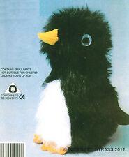 BABY PINGUINO piccolo Peluche kit completo pupazzo cucire costruire taglia 15cm
