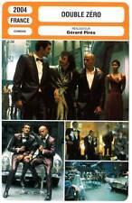 DOUBLE ZERO - Eric et Ramzy,Baer,Rossy De Palma (Fiche Cinéma) 2004