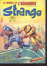 STRANGE 93  Les Eternels Alex Raymond Stan LEE GOOD/BE No Poster Comic LUG SEMIC