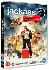 Region 2 DVD JACKASS 3 Johnny Knoxville Bam Margera - Extended Edition