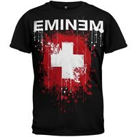 AUTHENTIC EMINEM SPLATTERED HIP HOP RAP SLIM SHADY MUSIC SHIRT S M L XL 2XL