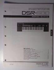 Original Yamaha PortaTone DSR-500 Digital Keyboard SERVICE Manual