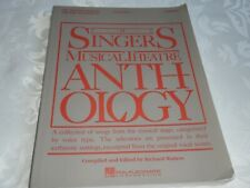 THE SINGERS MUSICAL THEATRE ANTHOLOGY - 1986