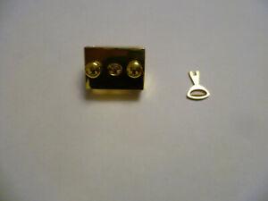 EXCLUSIVER TASCHENVERSCHLUSS, SCHLOSS mit Schlüssel  GOLD Farben Massiv Nr.6
