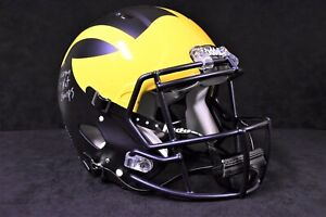 Charles Woodson Signed & Inscribed U of M Wolverines Authentic Helmet - Fanatics