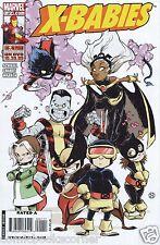 Marvel Comics 2009 X-Men X-BABIES #1-4 Complete Limited Series Set Lot Run