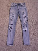 American Eagle Outfitters Womans High Rise Jegging Super Stretch Size: 0 Short