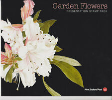 NEW ZEALAND STAMP SET FDC 2004 PRESENTATION PACK GARDEN FLOWERS