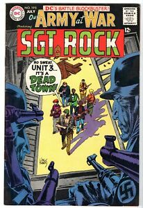 Our Army at War with Sgt. Rock #195, Very Fine Condition