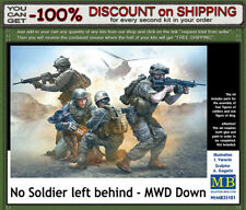 """Master Box 35181 """"No Soldier left behind - MWD Down""""  US Soldiers  Scale 1/35"""