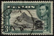 Colony George VI (1936-1948) Single Ceylon Stamps