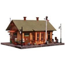 Woodland Scenics PF5207 N-Scale KIT Woodland Station, Easy Assembly, Fine Detail
