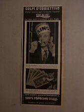 ADVERTISING PUBBLICITA' ELAH BIANCANEVE E DOTTO   -- 1940