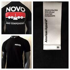 NOVO Aero Components American Apparel T Shirt Mens Medium M