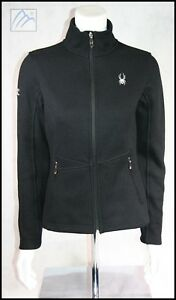 SPYDER INSULATED MID WEIGHT CORE SWEATER JACKET WOMENS S FOUR SEASONS