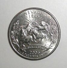 2006 US Quarter, 25 cents, Nevada, Horses coin