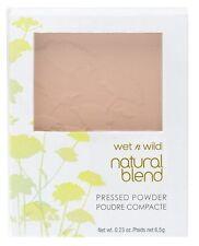 Wet 'n Wild Natural Blend Pressed Powder -827 Classic Beige-