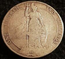 1902 Edward VII .925 Silver Florin Coin Lot G1