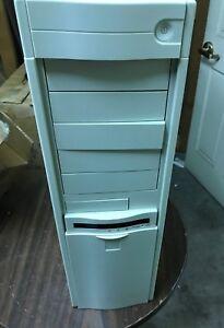 AT ATX Computer Case Enclosure Build Vintage 386 486 668atx Tower w/ power