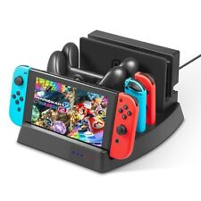 Vertical Charger Stand Charging Dock Station for Nintendo Switch controller