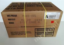 FULL CASE A or B US Military Food Army MRE Ration Emergency Army 12 Packs 2020