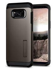 Spigen Samsung Galaxy S8 Tough Armor Shockproof TPU Kickstand Case Cover Gunmetal