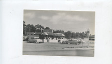 1950's Dairy Queen ice cream stand postcard, East Greenwich RI,Rhode Island,cars